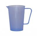Кружка 0,25л мерная синяя Полимер