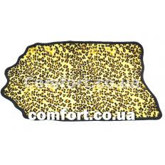 Коврик Таба фигурка 40х70 Леопард шкура
