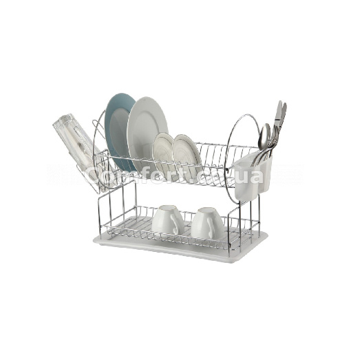 Сушилка для посуды 2-яр хром 4497