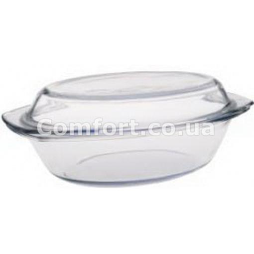 Посуда стекло 2,1л с крышкой (1,5л + 0,6л) 0762