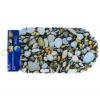 Коврик силикон камни цветные 359