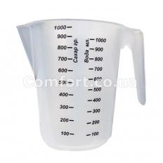 Кружка мерная 1,0 Люкс сахар + вода