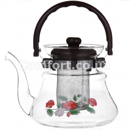 Чайник стекло 1,0л  1040