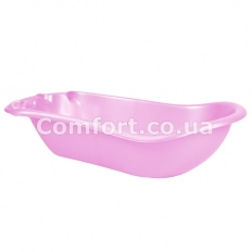 Ванночка пластик розовый перламутр