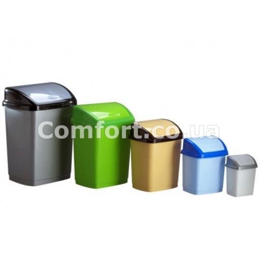 Ведро для мусора Домик   1,7л