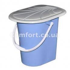Ведро-туалетик цветное
