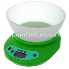 Весы  1656 кухонные электронные с чашей