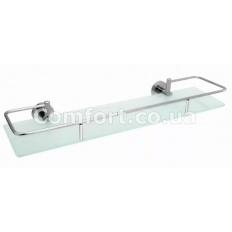 F034х60 Полочка стекло с бортиком