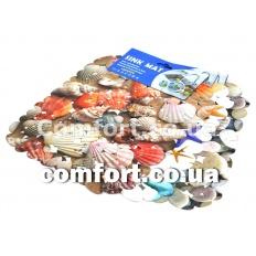 Мат для раковины силикон 061 камни