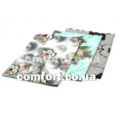 Скатерть 110х140  3D стандарт на тканевой основе 1803
