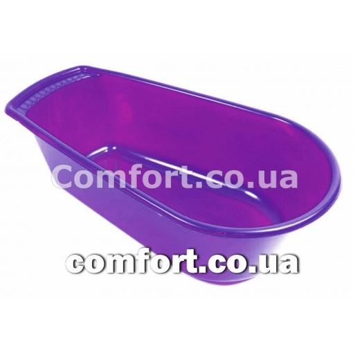 Ванночка 45л Глубокая конус фиолетовый