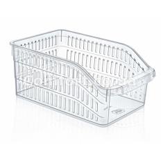 Корзина в холодильник 03 1064 широкая прозрачная