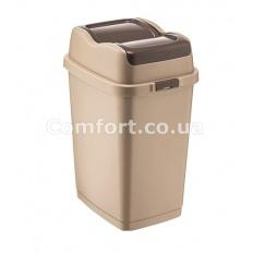 Відро для сміття 5,0л подвійна кришка 09711