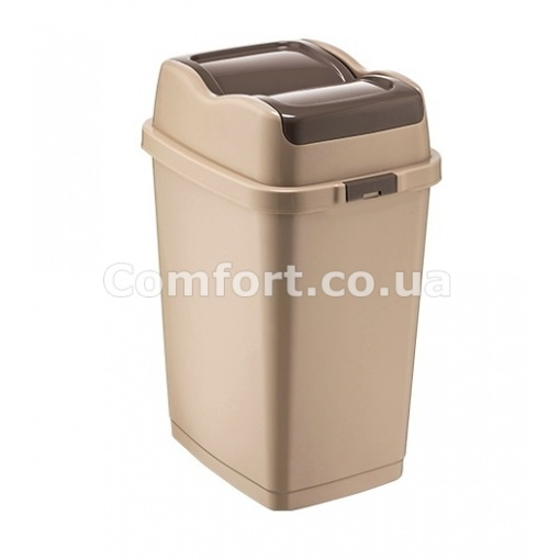 Ведро для мусора 09711 двойная крышка 5,0л