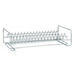 Сушилка металл для посуды 1-яр прямая 40см хром СП-14122