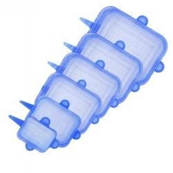 Крышечки силиконовые 07SL набор квадратные