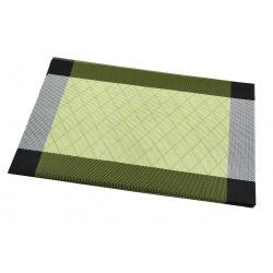 Термосалфетка набор 12шт зеленый кант