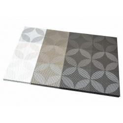 Термосалфетка набор 12шт листочки бежевые перламутр