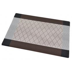Термосалфетка набор 12шт кант коричневый