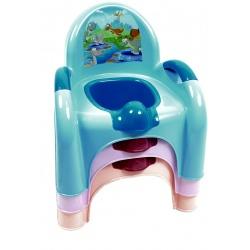 Горшок детский стульчик АК-639 Котик