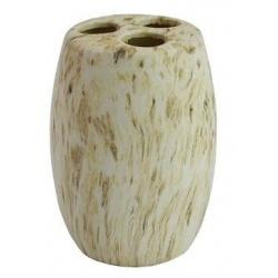 Стакан для зубных щеток керамика Rodos 3018 в полосочку