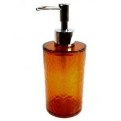 Дозатор для жидкого мыла  Bari 2134 прозрачный коричневый