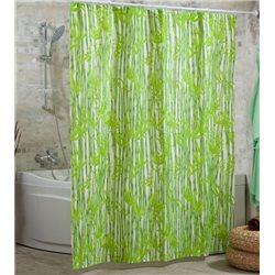 Штора Миранда BAMBOOS зеленый бамбук