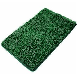 Коврик Лапша 80х120 зеленый темный