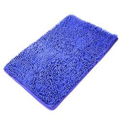 Коврик Лапша 80х120 синий