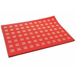 Термосалфетка Table Mat набір 12шт плетенка красная