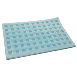Термосалфетка Table Mat набір 12шт плетенка голубий