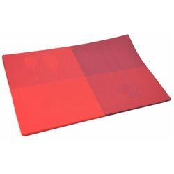 Термосалфетка Table Mat набор 12шт бокалы красный