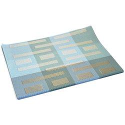 Термосалфетка Table Mat набір 12шт смужки штрих голуба