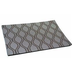 Термосалфетка Table Mat набір 12шт хвилі коричневі