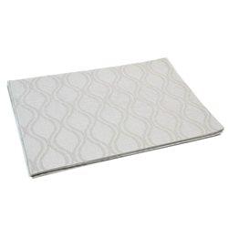 Термосалфетка Table Mat набір 12шт хвилі світло-сірий кольор