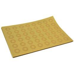 Термосалфетка Table Mat набір 12шт кружочки бежевий