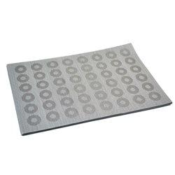 Термосалфетка Table Mat набор 12шт кружочки серый