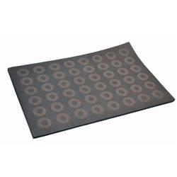 Термосалфетка Table Mat набір 12шт кружочки коричневий