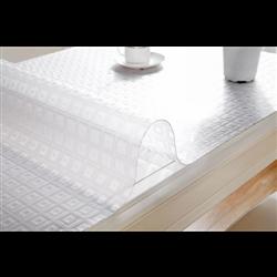 Клейонка мягкое стекло c тисненням 0,60мм-0,60*20м Е25