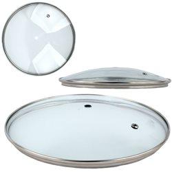 Крышка для сковородки 18GL стекло 18см