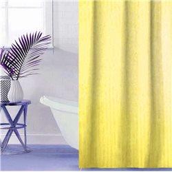 Штора Полоса ткань Премиум однотона 180х180 жовта