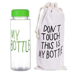 Пляшка 500МВ пластик 0,5л My Bottle