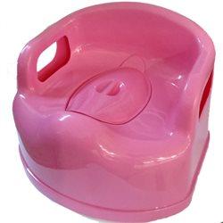 Горщик дитячий стільчик великий Консенсус розовий